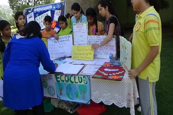 K C International School-Eco  Club