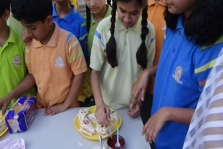 K C International School-Food Day