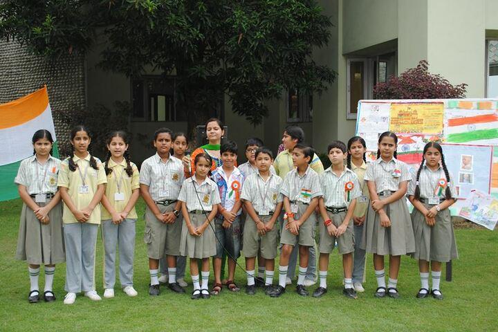K C International School-Independance Day