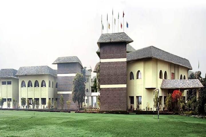 K C International School-Campus Front view