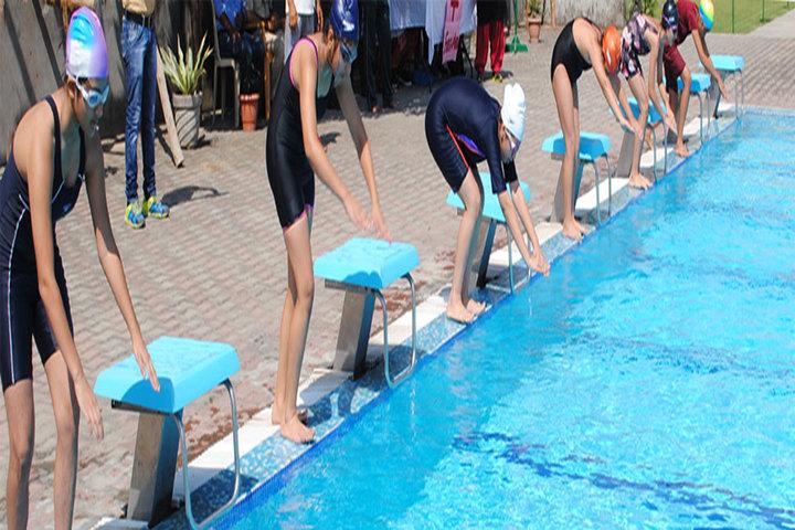 K C International School-Swimming Pool