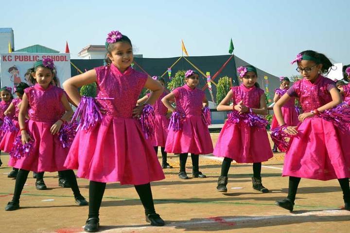 K C Public School-Dance Activity
