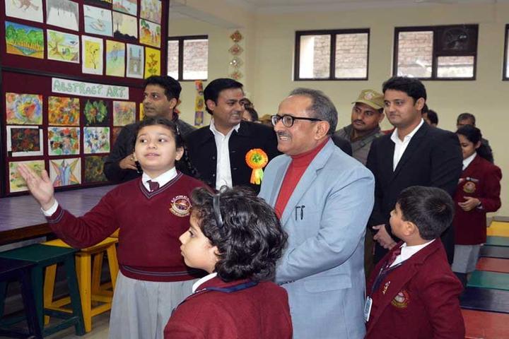 K C Public School-School Exhibition
