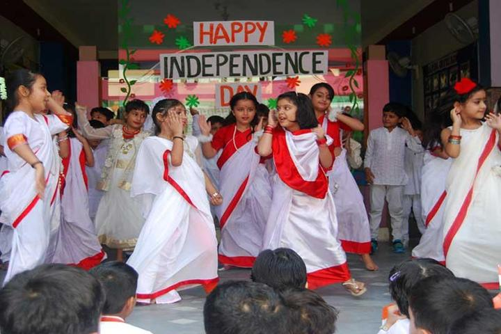K C Public School-Independance Day