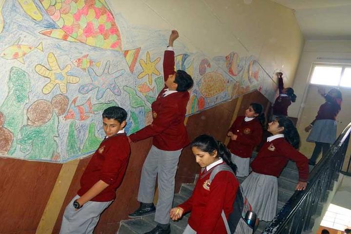 K C Public School-Painting