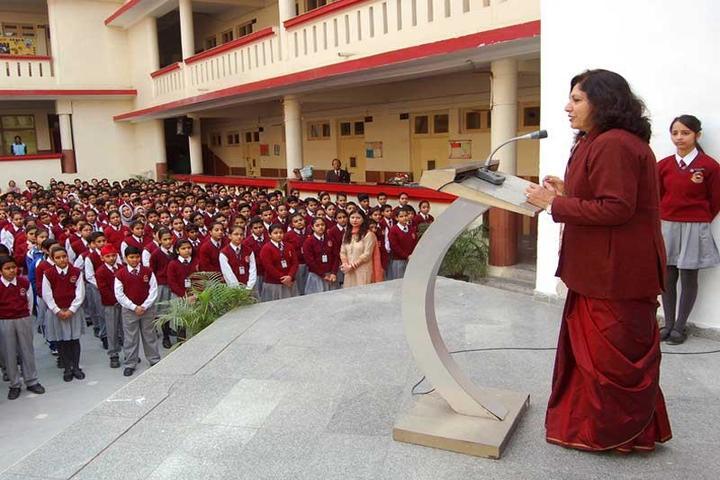 K C Public School-Speech