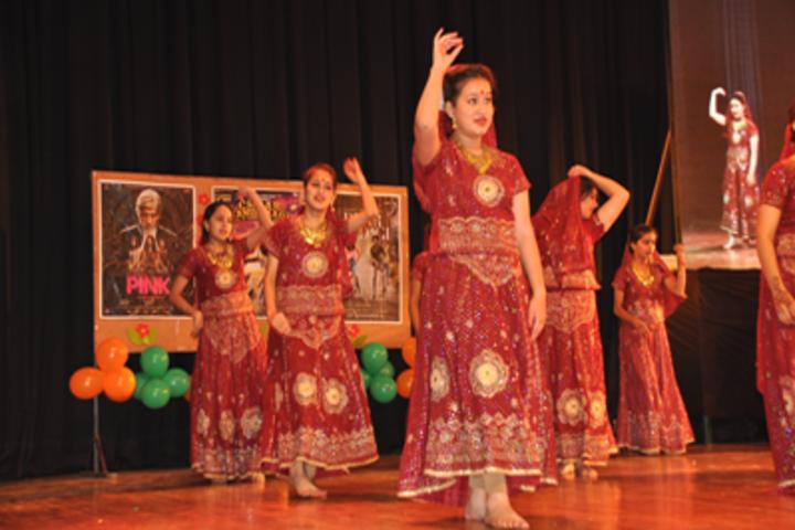 KC Gurukul Public School-Dance