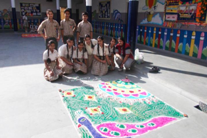 KC Gurukul Public School-Diwali
