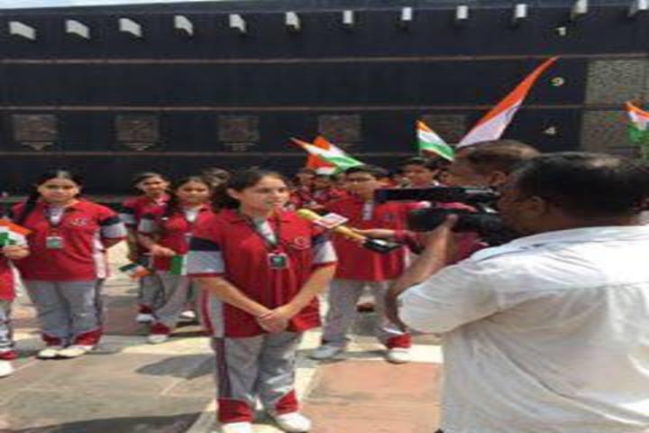 KC Gurukul Public School-Independence Day