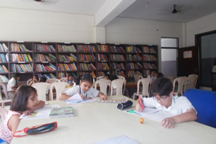KC Gurukul Public School-Library