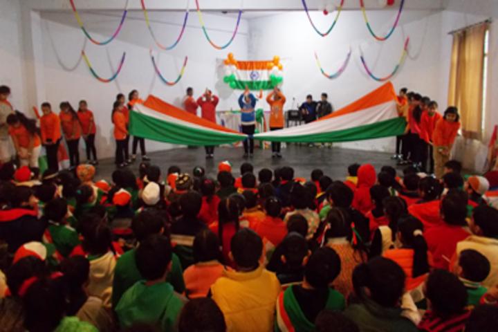 KC Gurukul Public School-Republic Day