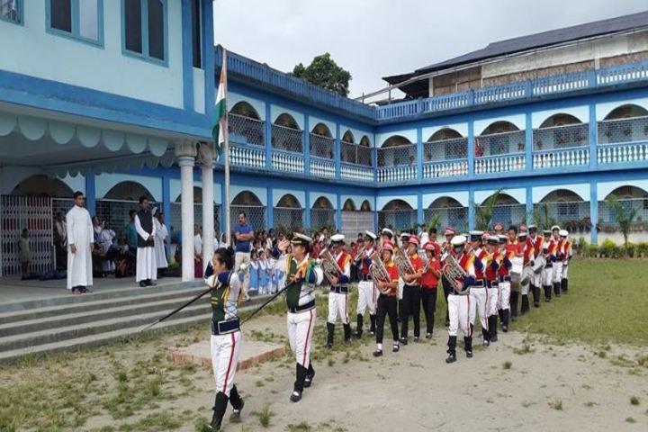 St Francis De Sales School-March Past