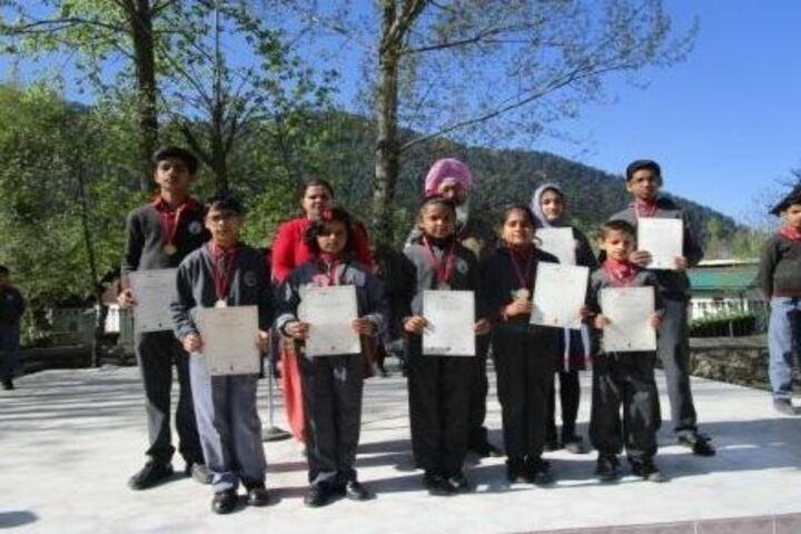 Kendriya Vidyalaya-Certificates Presentation
