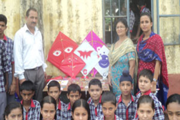 Kendriya Vidyalaya-Kite Making
