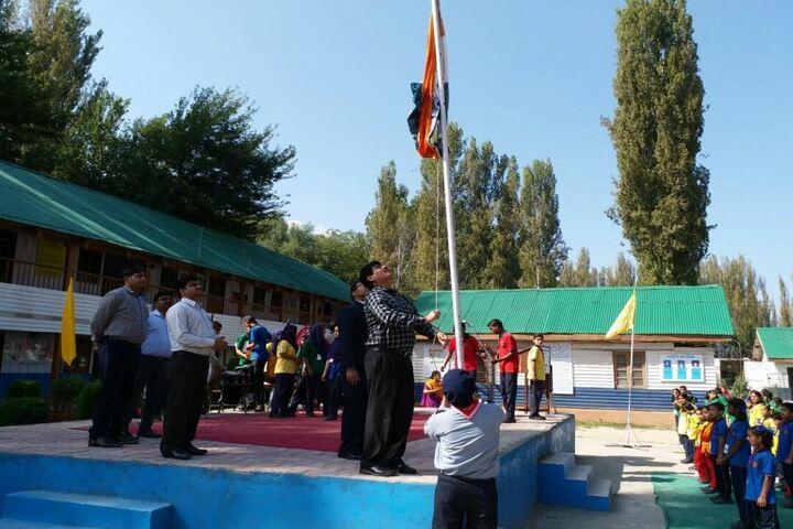 Kendriya Vidyalya-Flag Host