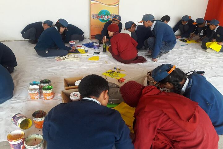Mahabodhi Residential School-Drawing Competition
