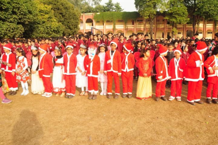 Maharaja Harisingh Agricultural Collegiate School-Christmas Dress