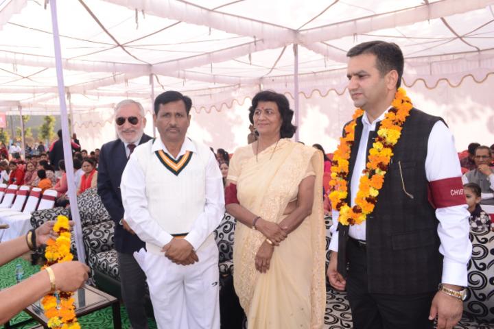 Maharaja Harisingh Agricultural Collegiate School-Manager