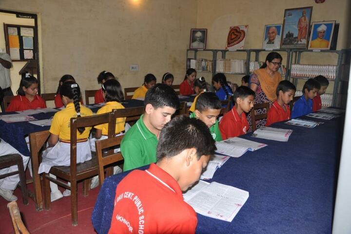 Maharaja Harisingh D A V Centanary Public School-Library