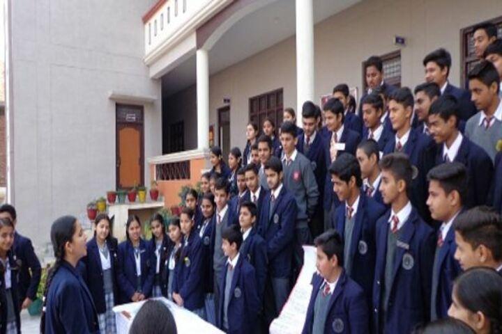 Maharaja Harisingh D A V Centanary Public School-Speech