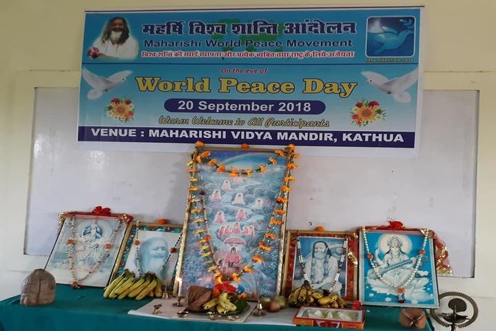 Maharishi Vidya Mandir-World Peace Day