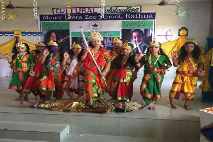 Mount Litera Zee School-Traditional Dance