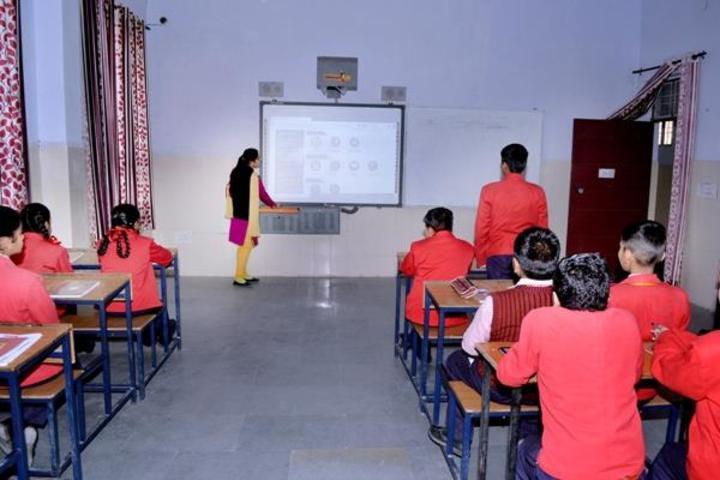 R M Public School-Smart Class Room