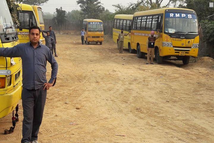 R M Public School-School Bus