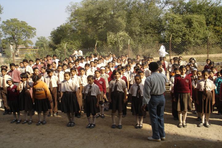 Sh Guru Gang Devji Model School-Assembly
