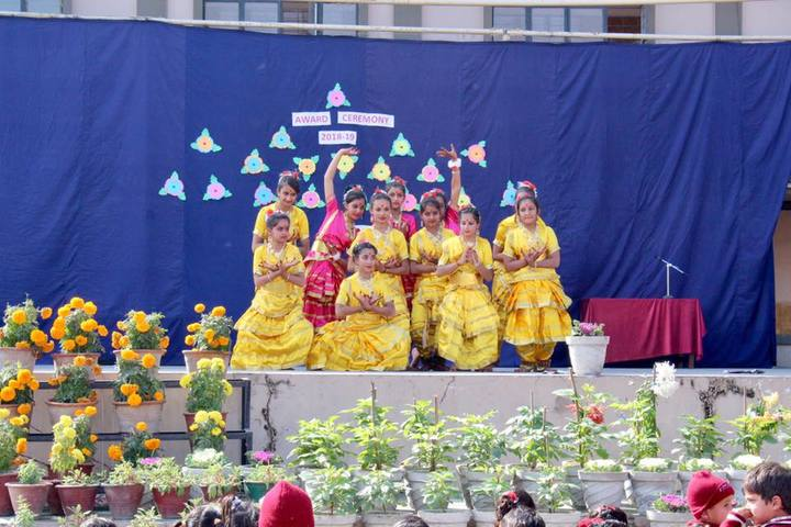 St Xaviers Convent School-Traditional Dance