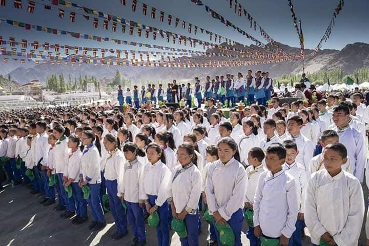 The Tibetan Sos Childrens Village School-Others prayer