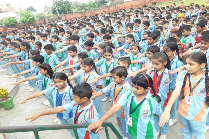 Vishwa Bharati Public Higher Secondary School-Assembly