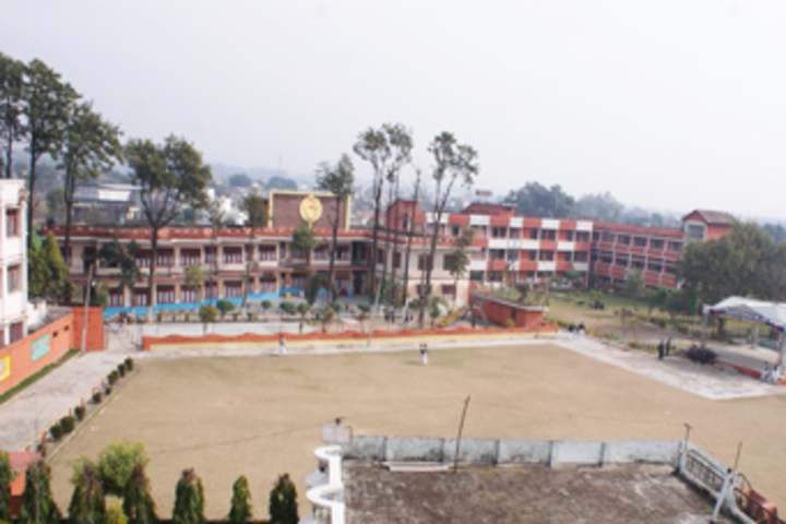 Vishwa Bharati Public Higher Secondary School-Building