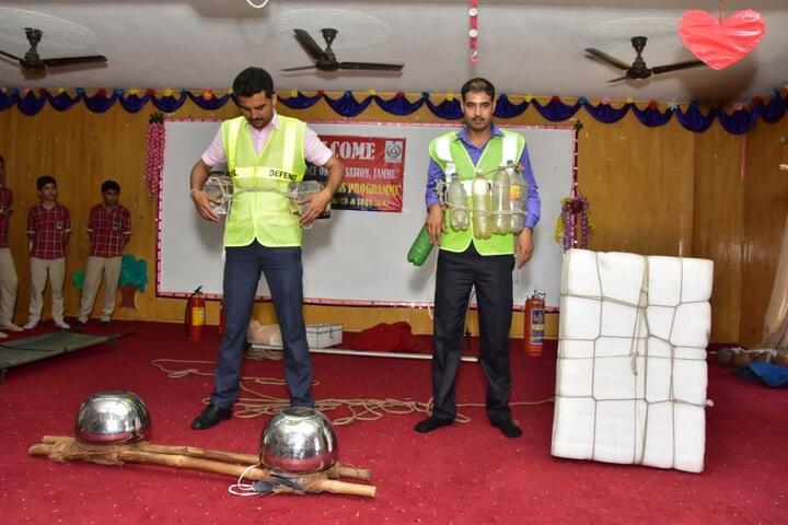 Vishwa Bharati Public Higher Secondary School-Civil Defence