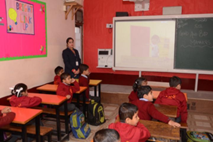 Vishwa Bharati Public Higher Secondary School-Class Room