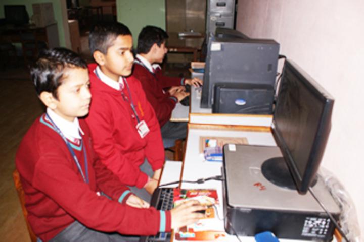 Vishwa Bharati Public Higher Secondary School-Computer Lab