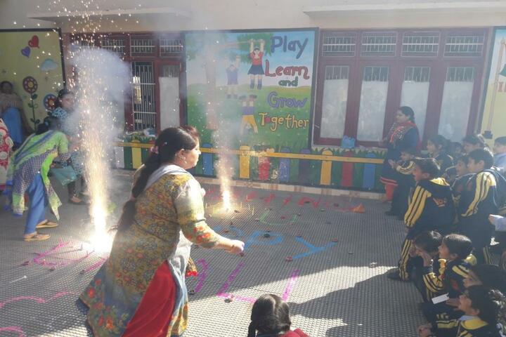 Vishwa Bharati Public Higher Secondary School-Diwali