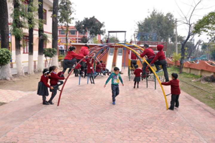 Vishwa Bharati Public Higher Secondary School-Kids Playground