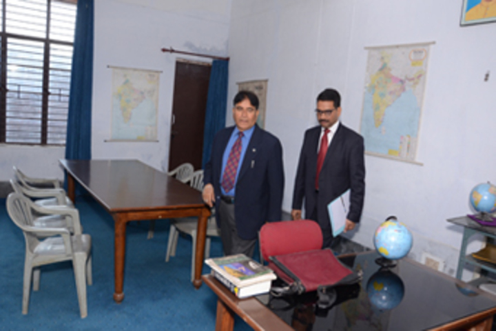 Vishwa Bharati Public Higher Secondary School-Office Room