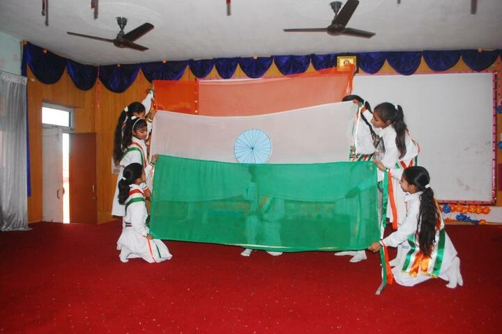 Vishwa Bharati Public Higher Secondary School-Republic Day