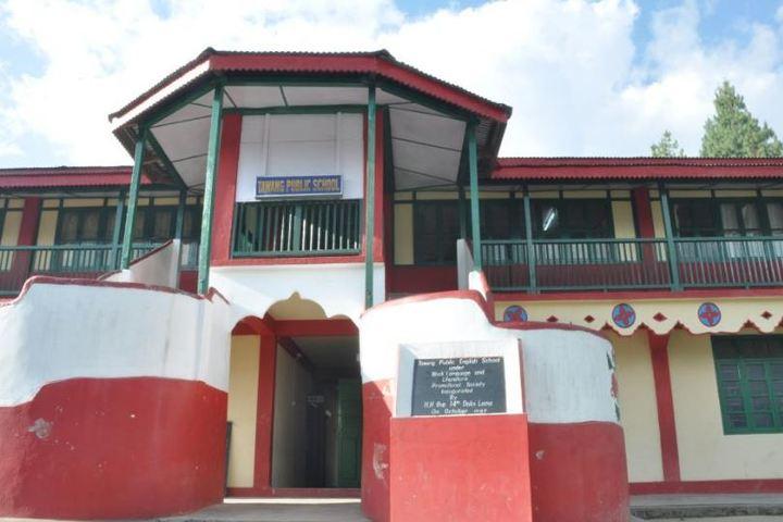 Tawang Public School-Entrance view