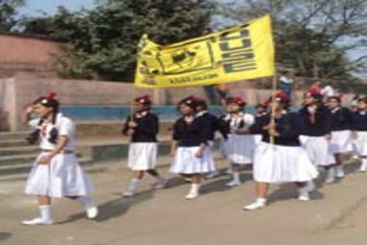 Adarsh Shramik Uchcha Vidyalaya-March Past
