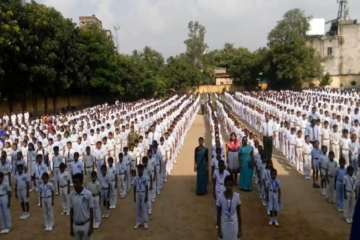Adarsh Vidya Mandir-Assembly