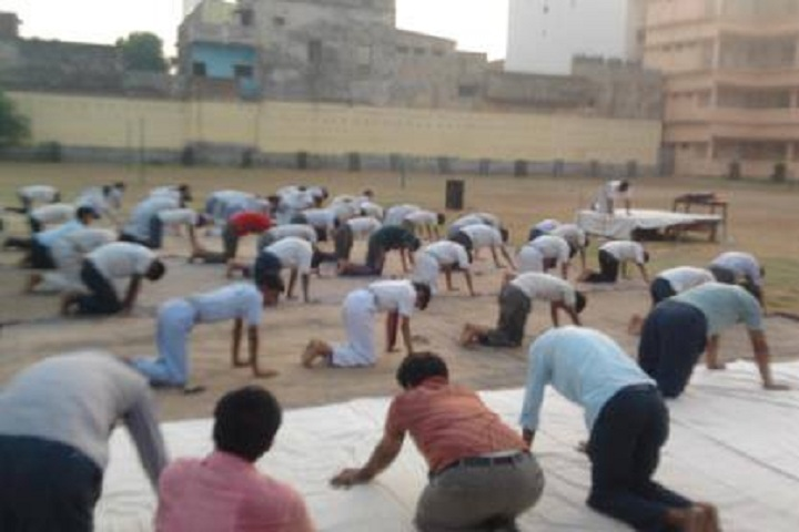 Adarsh Vidya Mandir-Yoga Activity