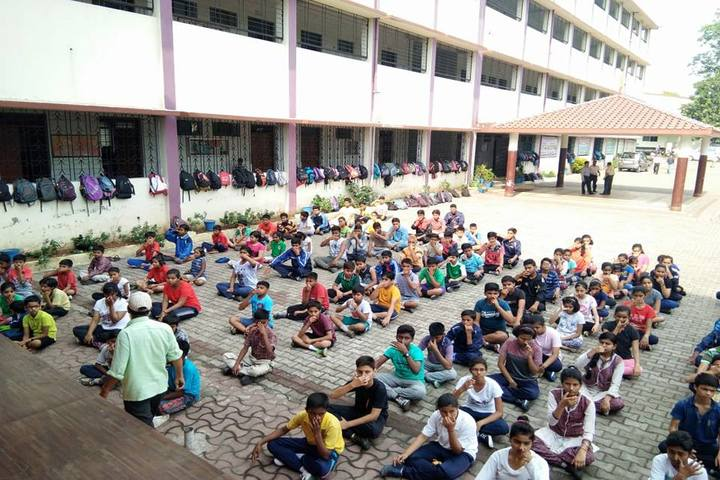 Agrasen Dav Public School-Yoga