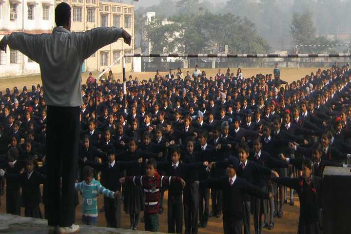 Army Public School-Yoga Activity