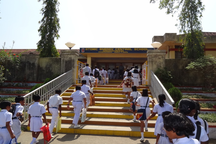 Atomic Energy Central School-Entrance View