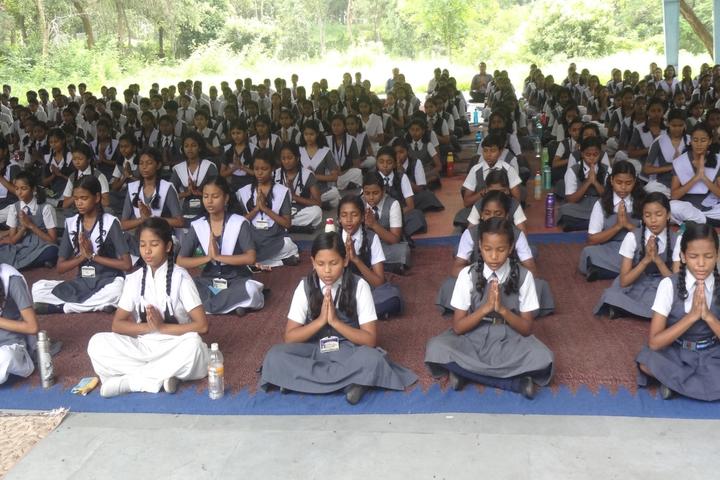 Atomic Energy Central School Yoga