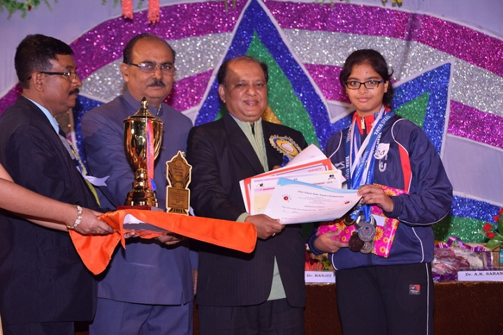Atomic Energy Central School-Library-Felicitation