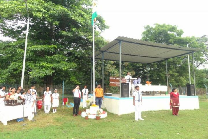 Atomic Energy Central School-Flag Hosting